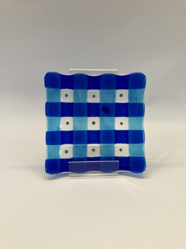 Fused Glass Plate - Andy Baker