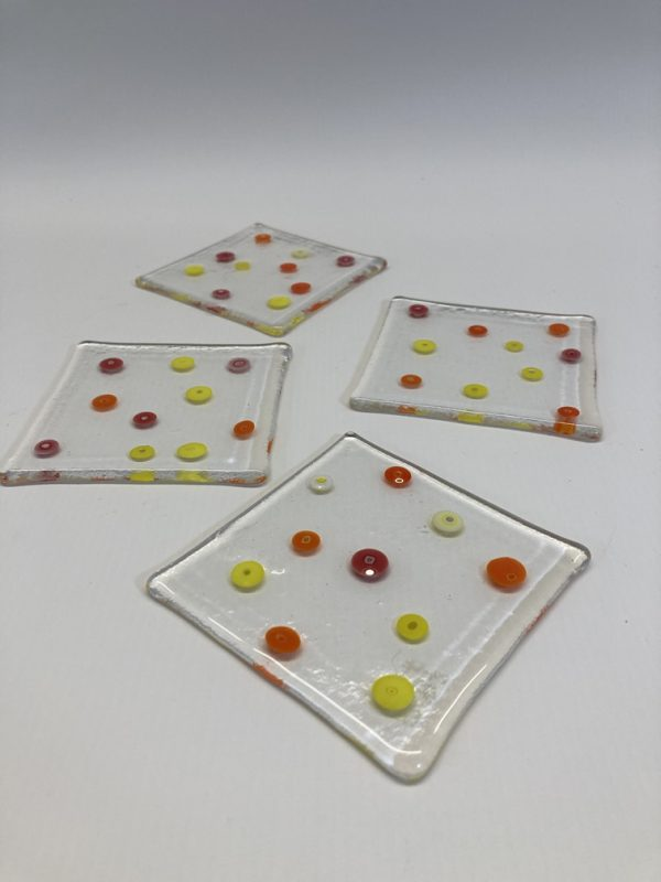 Fused Glass Coasters - Andy Baker