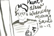 Drawing - drop-in sessions - socials - paint and draw