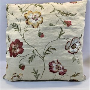 Embroidered Cushion - Sew Vintage